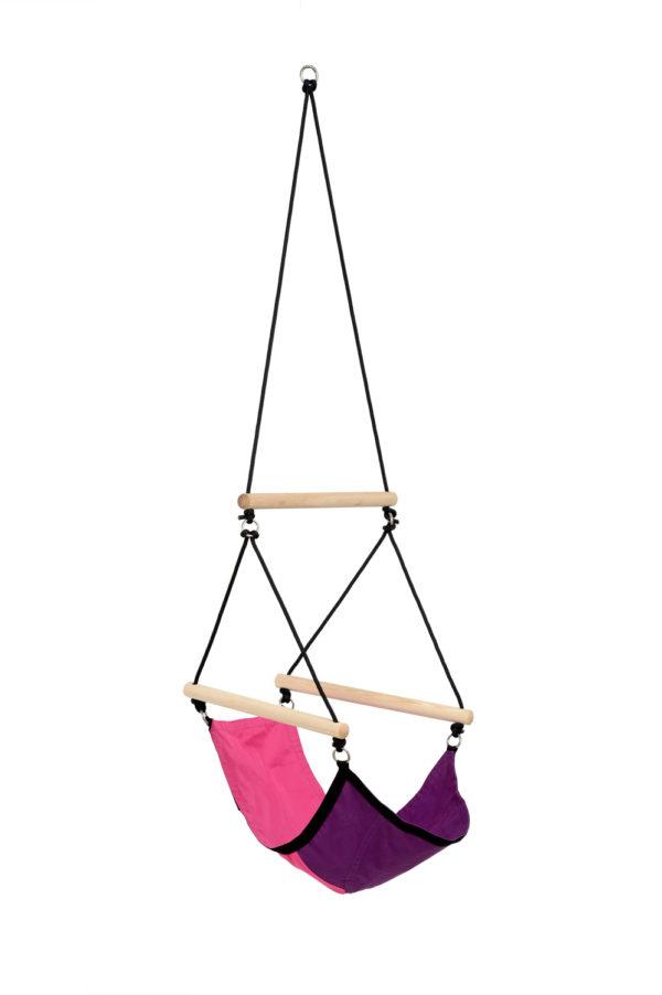 Kinderhangstoel Swinger Pink - Amazonas