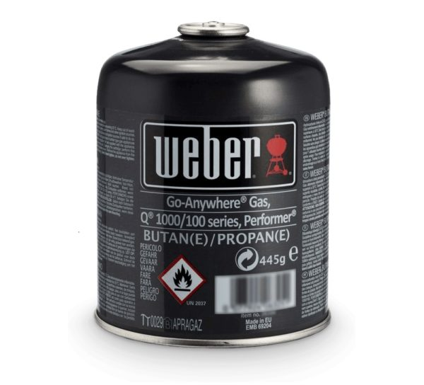Weber Gasbusje voor Q100/1000, Performer en Go-Anywhere