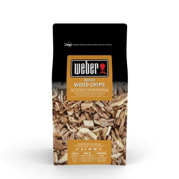 Weber Houtsnippers 0,7 kg, Beech