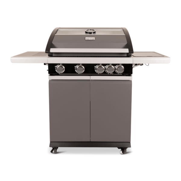 Patton Patio Pro Chef 4+ burner Mat Grijs