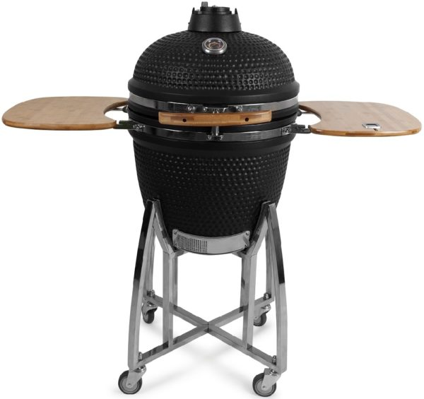 Patton Kamado Grill Deluxe Large 21 inch (mat zwart)
